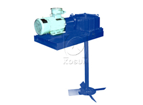 机械泥浆搅拌器的结构功用